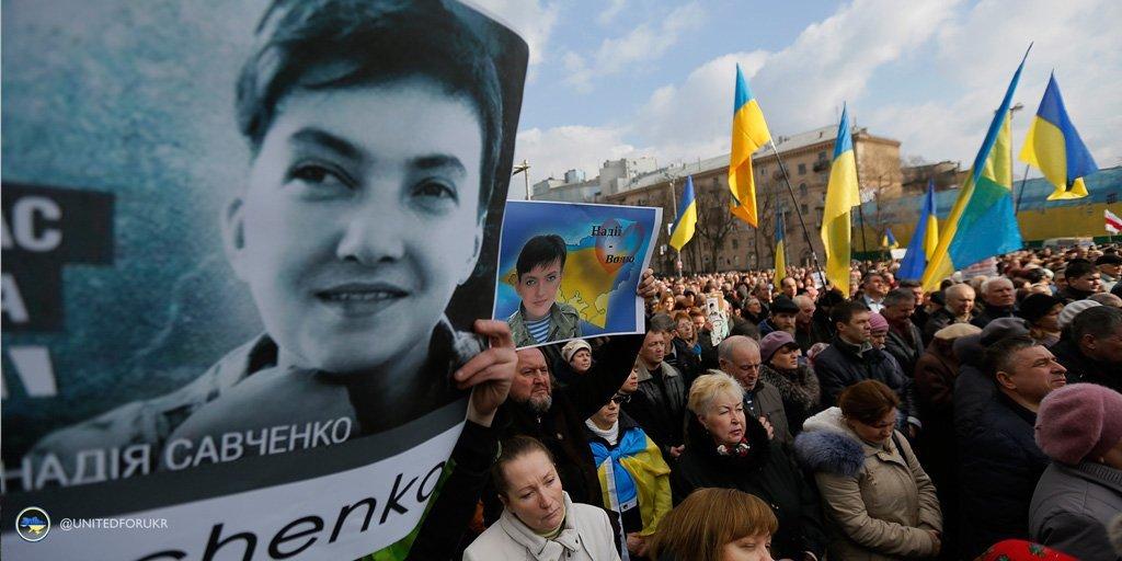 Honor #IWD2016 by joining us in condemning the detention of Nadiya Savchenko https://t.co/pQV2ZF4txY #FreeSavchenko https://t.co/ZRAxczFCWR