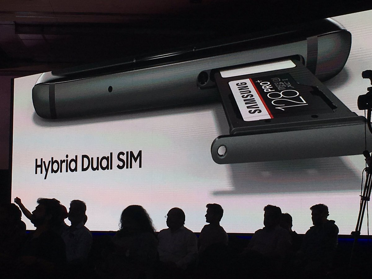 Finally Dual SIM and Memory card support on #GalaxyS7 at launch https://t.co/yHCQMX9f2G