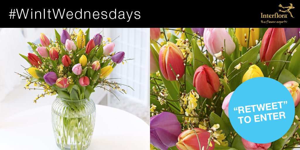 It's #WinItWednesday! RT & follow for a chance to #win our Mixed Tulip Vase. Ts&Cs here > //ow.ly/zgJAl https://t.co/snES1n8uIX