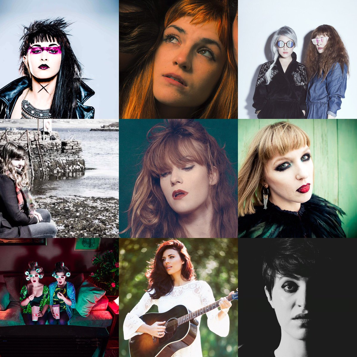 Very proud to be working with some brilliant female fronted / solo acts via @abof. #InternationalWomensDay https://t.co/vDGZxgju5T