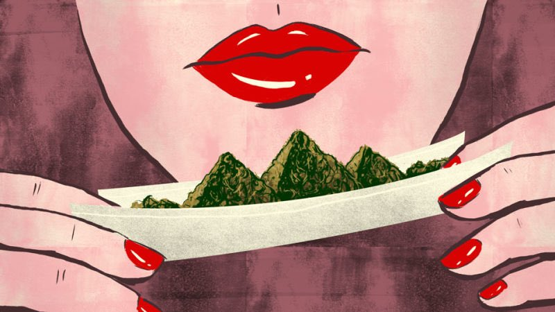 Women are cashing in on the billion $ #cannabis industry