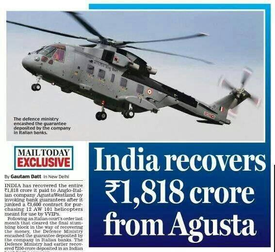 Modi recovering the black money @INCIndia 's corrupt government leaked out of India.  https://t.co/5Rf7RuyTso