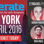 Bookings for 5 or more people will get 20% off at #generateconf NYC! Use code 'nycgroup': https://t.co/xZByVaBdui https://t.co/ylFyIhxqLk
