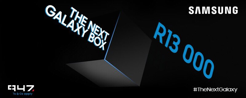 3500 #TheNextGalaxy RTs unlock the box! Follow the link,watch the video & you could WIN R13000 with @SamsungMobileSA https://t.co/Ey7kxX595R