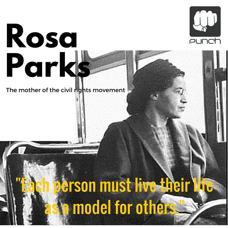 """I would like to be remembered as a person who wanted to be free"" - #RosaParks #IWD #InternationalWomensDay https://t.co/2ugS1vZe2B"