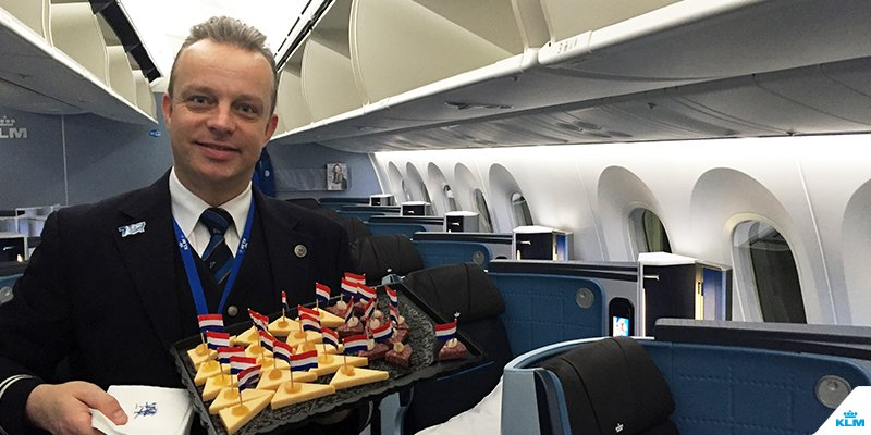 Flight attendant Diederik is an ambassador in our new Dreamliner. Read his blog: