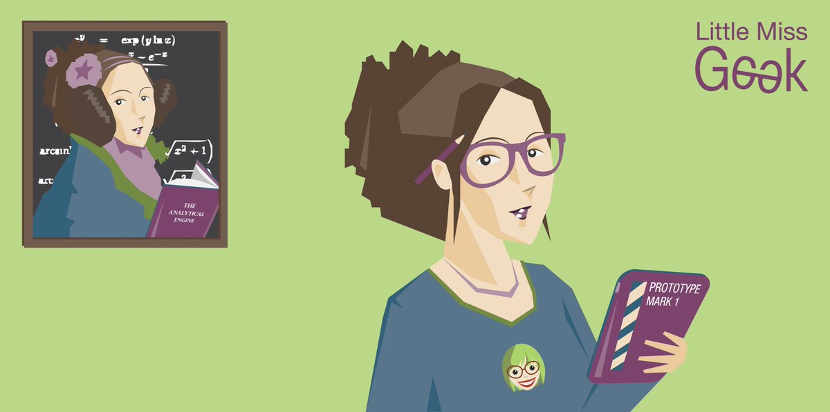 Let's remember that the first computer programmer was a woman! #LittleMissGeek #IWD2016 #HERinhero @FindingAda https://t.co/ACZjVy8fbP