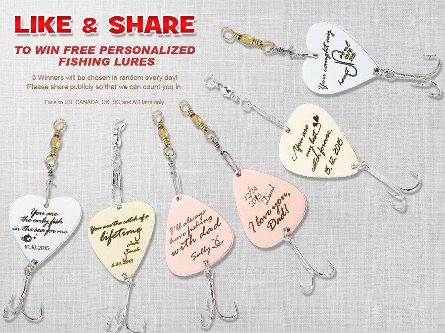 Enter 2 #Win #personalizedfishinglure https://t.co/vxGqZcXf24  Customized gift #handmade https://t.co/7GW76Zs2iW https://t.co/j8JxcEvPb9