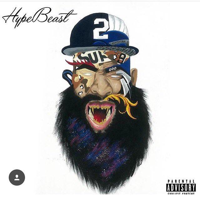 Did y'all listen to @JaeTips new mixtape #hypebeast2 cover art done by #jordansDad https://t.co/jcflNb7xpA