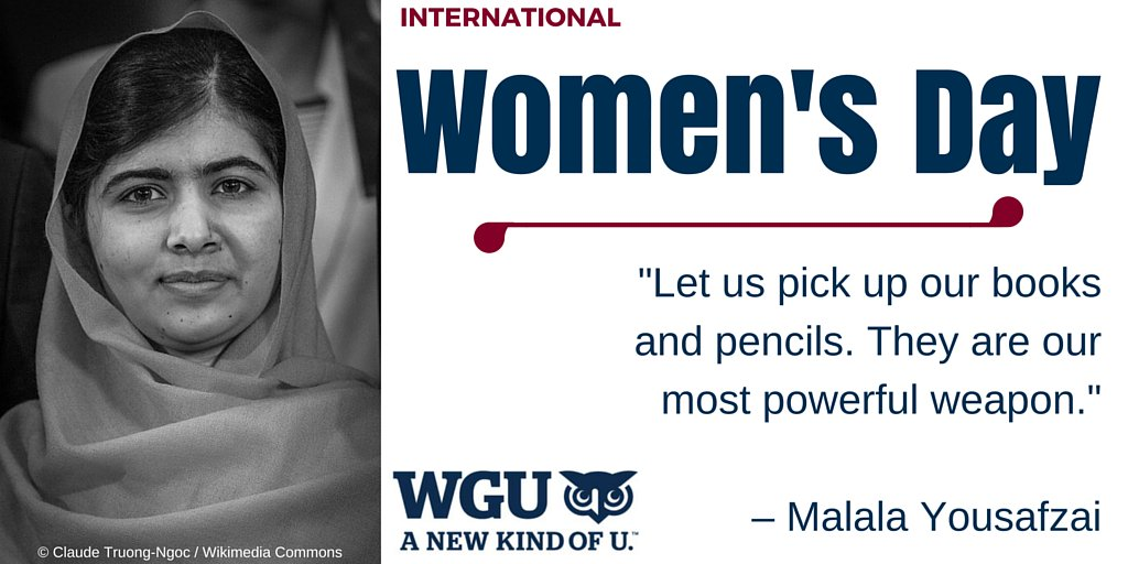 The power of education. #InternationalWomensDay https://t.co/Xo8MT3elw2