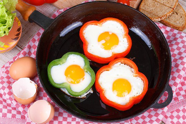 Eggs In A Pepper Ring!  Easy, delicious way to add antioxidant dense veggies to your breakfast. #FATflammation-Free https://t.co/pTfK5hTeZW