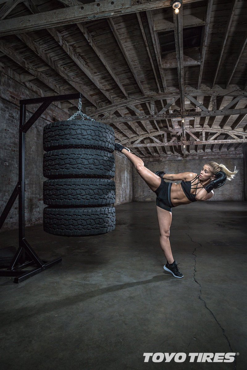 From kicking in the Octagon @UFC to kicking on a different stage! Good luck on #DWTS!  @PaigeVanzantUFC | #TeamToyo https://t.co/RTI9tzq4fD