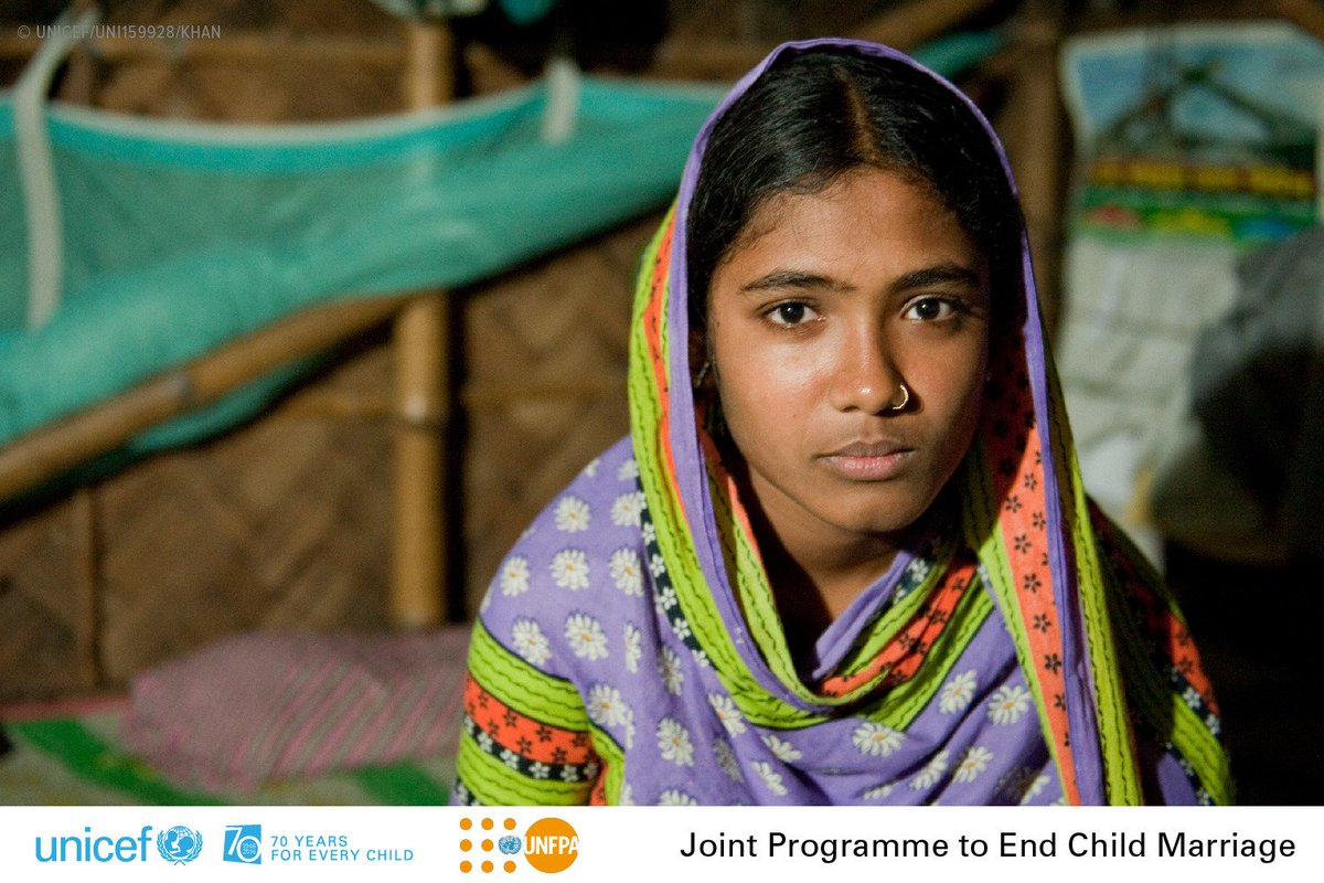 Today, we're pleased to launch the UNFPA-@UNICEF programme to #EndChildMarriage: https://t.co/q78EkbqjRw #IWD2016 https://t.co/VNUj4pEjbG