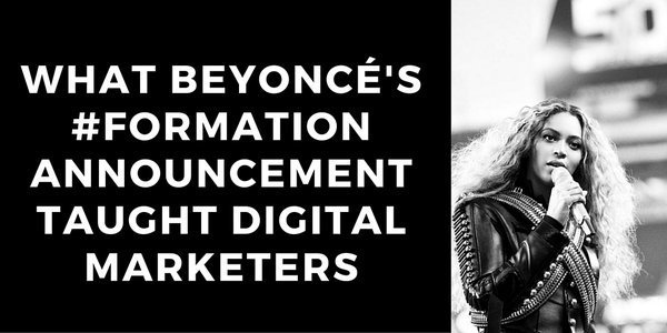 Beyoncé isn't just the queen of music — she's the queen of #digitalmarketing too: https://t.co/4VRcpWUSHp #smm https://t.co/NwoG8ClpZn