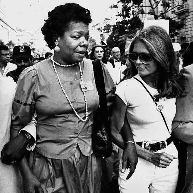 I love to see a young girl go out and grab the world by the lapels. - #MayaAngelou #InternationalWomensDay https://t.co/4NqNEbVhpc