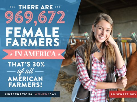 Today is #InternationalWomensDay, Here's a shout out to all the women farmers! https://t.co/wREhpb37yv