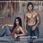 Here's the poster of #Baaghi. Stars Tiger Shroff and Shraddha Kapoor. https://t.co/7a1SYPZV4t