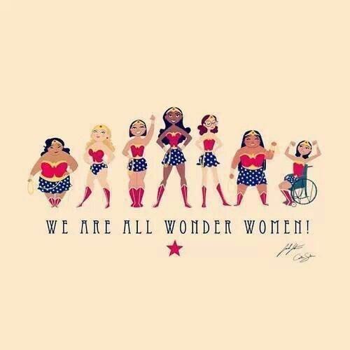 We Are All Wonder Women...! #HappyInternationalWomensDay https://t.co/JCqQx6Jpij