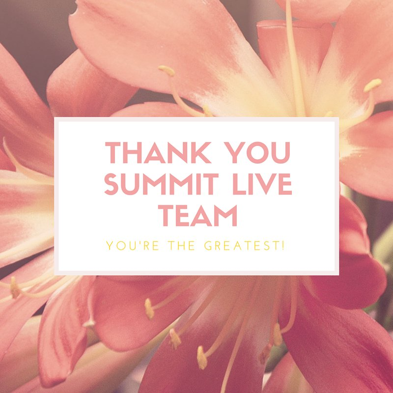 @Summit_Live Team Thanks for such a beautiful tribute on #InternationalWomensDay