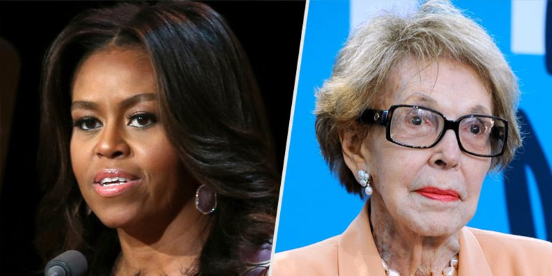 Michelle Obama remembers Nancy Reagan as a mentor