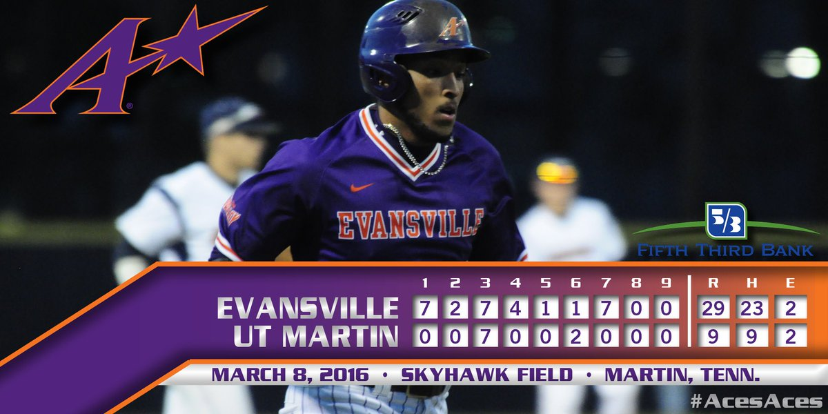 That's not a typo. @UEAthleticsBASE tied a school record tonight with 29 runs. #AcesAces https://t.co/BLg0fTlGpD