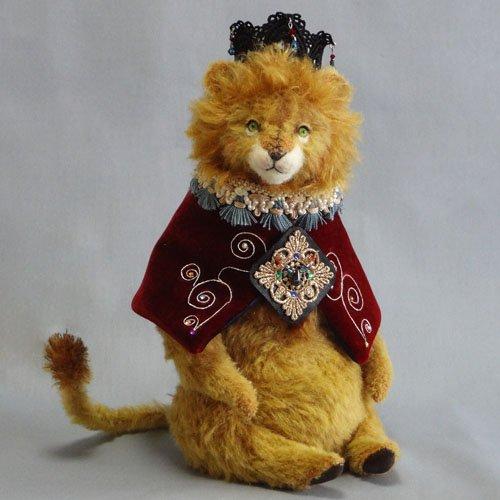SUN [ *Sora iro Bear* ]  作品展 1 ライオンの王様 https://t.co/el1VUEgxyH