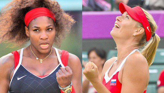Serena Williams admires Maria Sharapova's