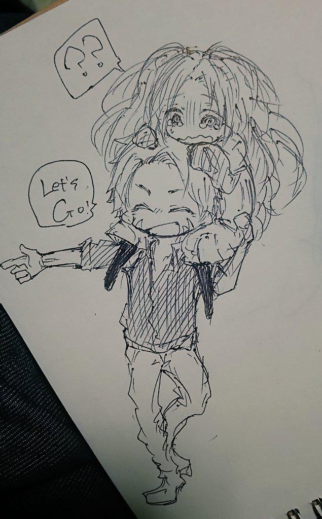 @otk_toki 姫ちゃんを連れ回す楽しさを覚えた https://t.co/KbQxlrcmOS