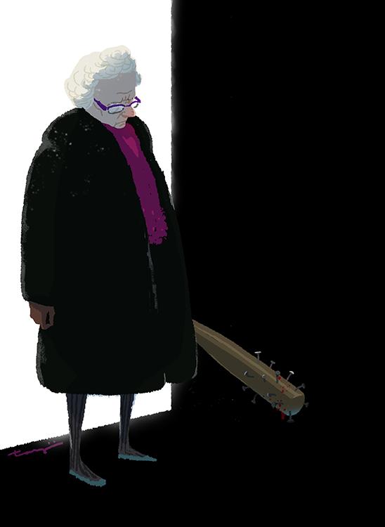 「おっおばあちゃんどうしてここに」「まったくどれだけ世話を焼かせるんだい、このクソ孫が」 https://t.co/uYZ9x3fFHg