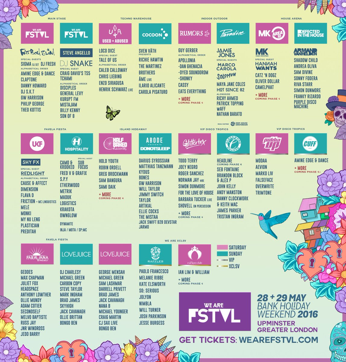 Retweet to win x2 VIP weekend tickets to @wearefstvl 2016. Final tickets: https://t.co/qP1WvquhUs.   GO GO GO https://t.co/A2pxHpjCl0