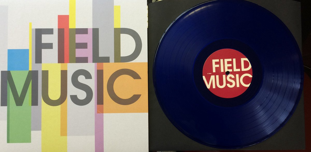 Hurrah! @fieldmusicmusic's long out of print debut LP reissued for this year's Record Store Day #RSD16 https://t.co/ypwOOMZ5n3