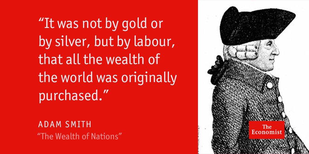 Adam Smith's magnum opus—