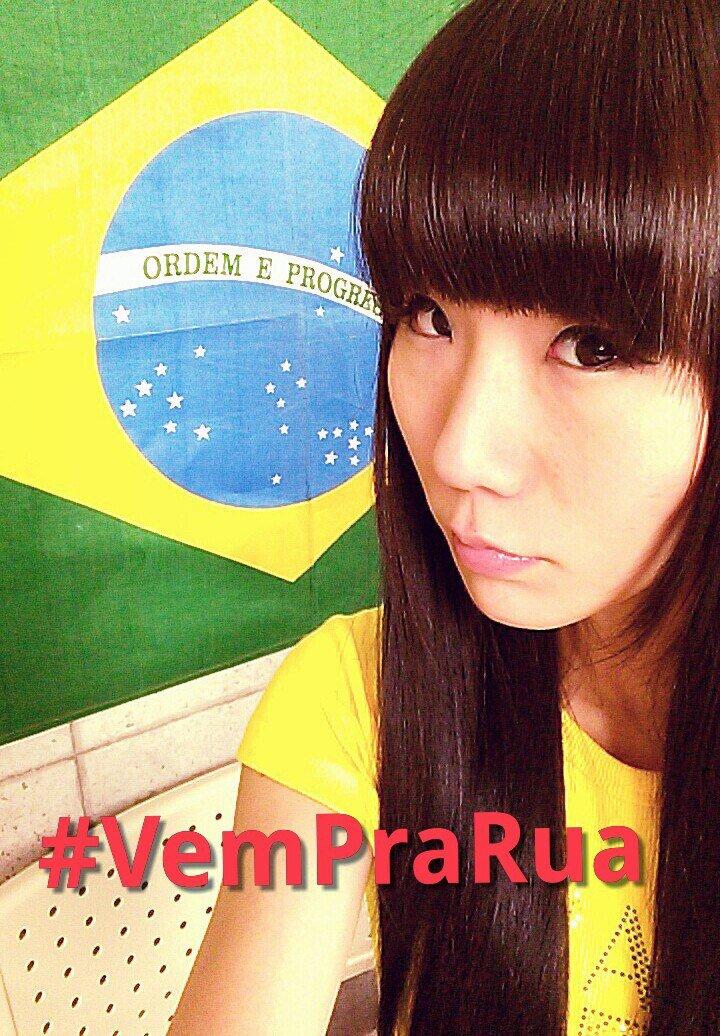 Eu  não sou brasileira. mas gosto muito do Brasil.  Pode mudar o BRASIL. #VemPraRua #VemPraRua13Mar Faltam 4 dias! https://t.co/5TT2SeF7N7