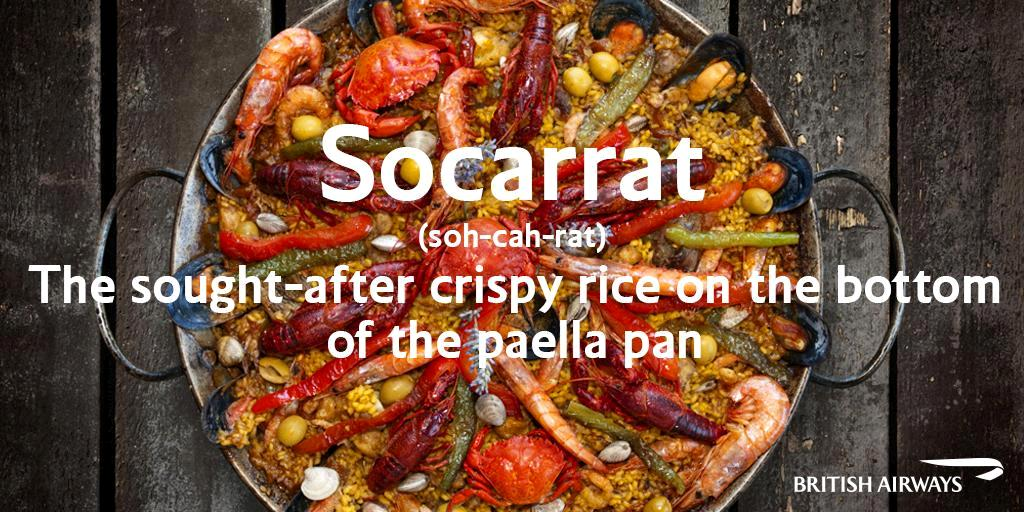 The paella rice crust is a delicacy known as 'socarrat'. Visit Valencia and find out more: