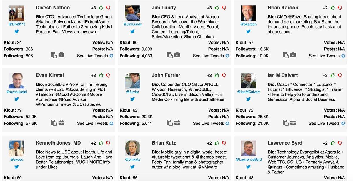 Influencers at #EC16 @Divi911t @JimLundy @bkardon @IanMCalvert @furrier @evankirstel @sxdoc @bmkatz @LawrenceByrd https://t.co/wLRhYD2ppP