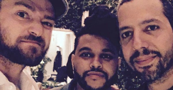 Justin Timberlake, The Weeknd & David Blaine have a guys' night out: