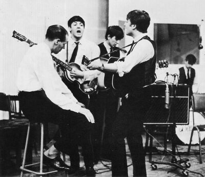 The world would be a far different place if George Martin hadn't taken a chance on those four lads from Liverpool. https://t.co/JXQu0AKSIM