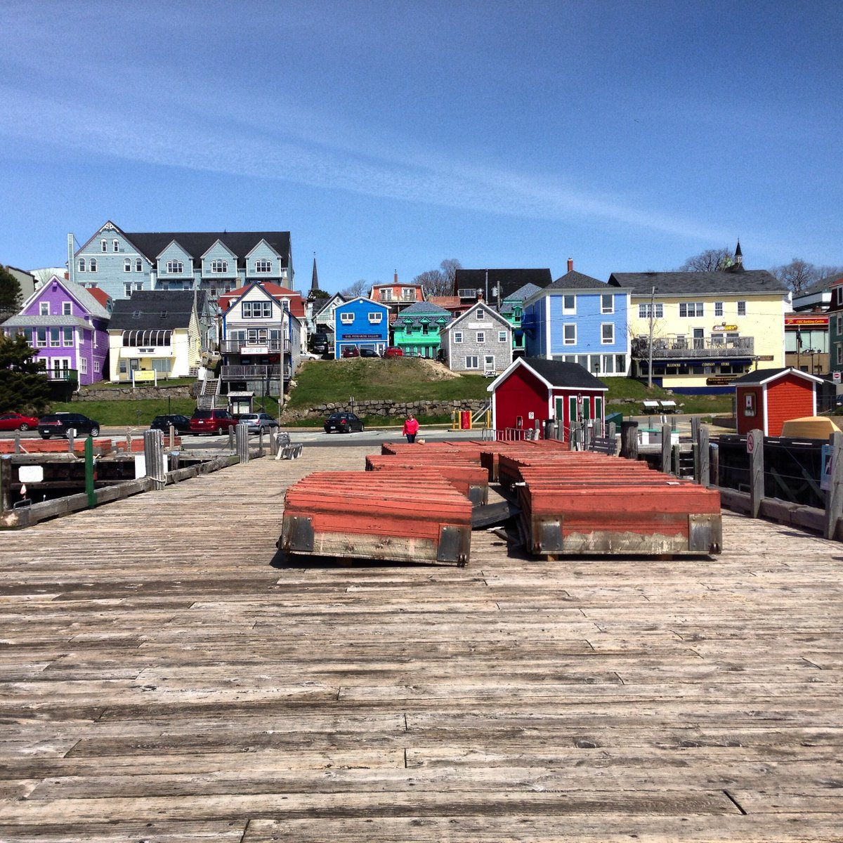 A little bit of colour from Lunenburg.