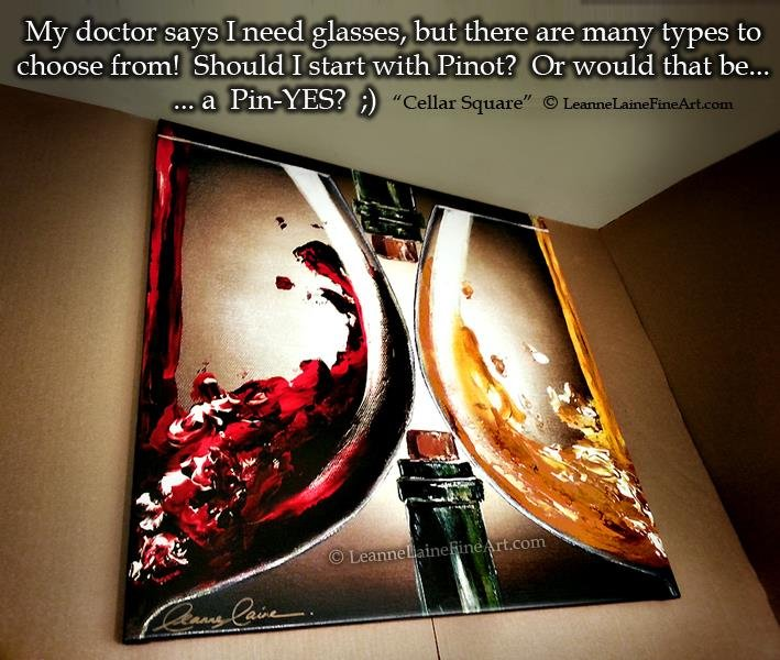 Happy #WineWednesday Glass of Pinot? I say Pinyes! #foodie #WednesdayWisdom #wine (art:https://t.co/gdadOlMuCt) https://t.co/NG6hGZyXt4