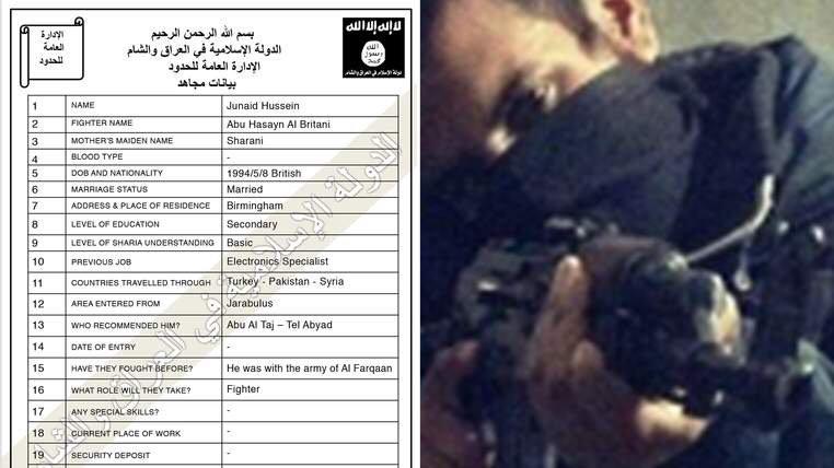 IS Registration Forms Identify 22,000 Jihadis #ISIS #ISIL #iraq #Syria  https://t.co/PbmGHBHBMH https://t.co/Ah8i3ecbxl