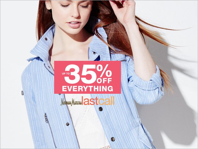 Friends & Family: Extra 30% off everything; extra 35% off with NM credit card & code EXTRA35 https://t.co/WouakSAjPJ https://t.co/p4NYReOQvK