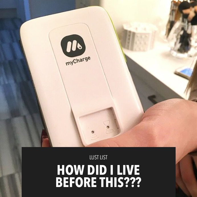 The portable charger from @myChargePower is a lifesaver! New #LustList on khloewithak! https://t.co/Z32nQC0sqa https://t.co/F0nnuaMFir