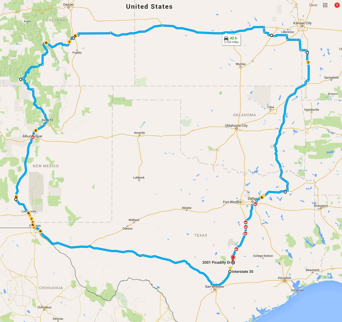 If you need to get from S. Austin to N. Austin during #sxsw take this shortcut for the next few weeks. -Dave Madden https://t.co/GBa39zfitm