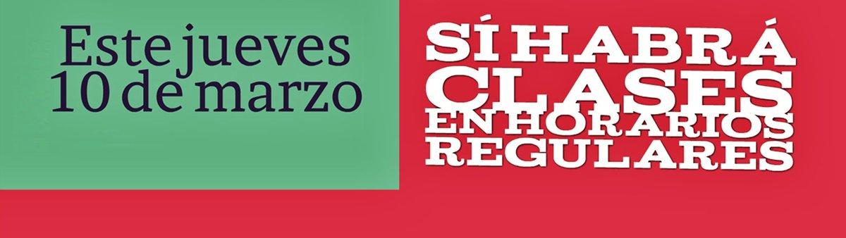 Este jueves 10 de marzo sí habrá actividades en la Ibero Ciudad de México https://t.co/Gf4Ynt5LML https://t.co/M4GISVa713