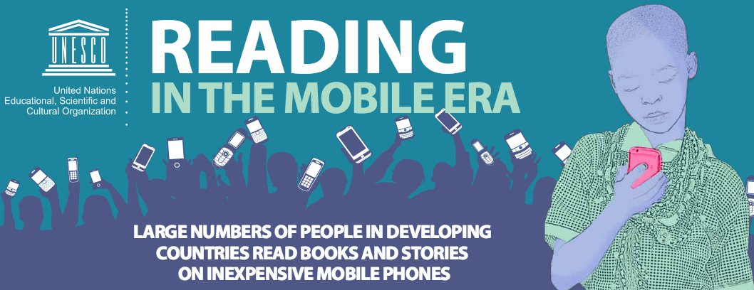 Here's the interesting infographic summary of the UNESCO Reading in the Mobile Era report https://t.co/dM96lD52D4 https://t.co/BmSn2srmQ0