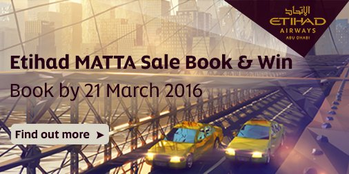 Planning your holiday from Malaysia? Take advantage of our MattaFair deals today. Book now: