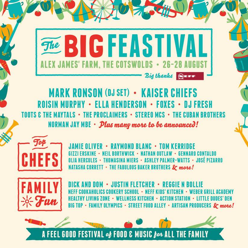 The Big Feastival is back for another epic year! excited to share the 1st of our line-up https://t.co/0oyXH8U2W4 https://t.co/LBTKzf32vL
