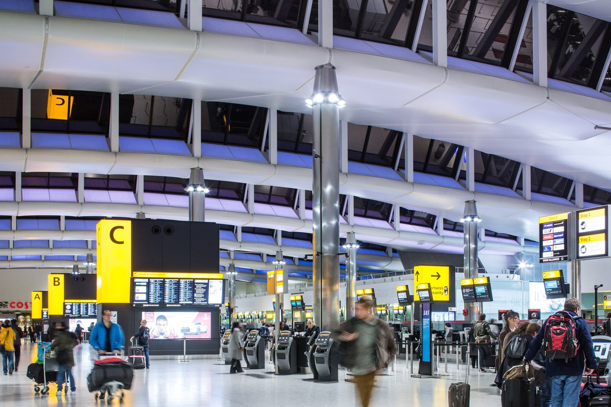 RT @yourHeathrow: Record 5.18 MILLION passengers travel via Heathrow in February as cargo surges (+2.7%): https://t…