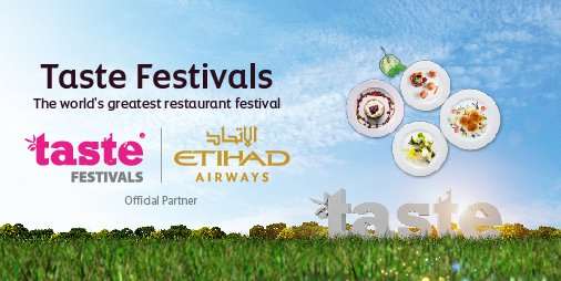 Today we have announced a global multi-year partnership with Taste Festivals Ltd. Read more: