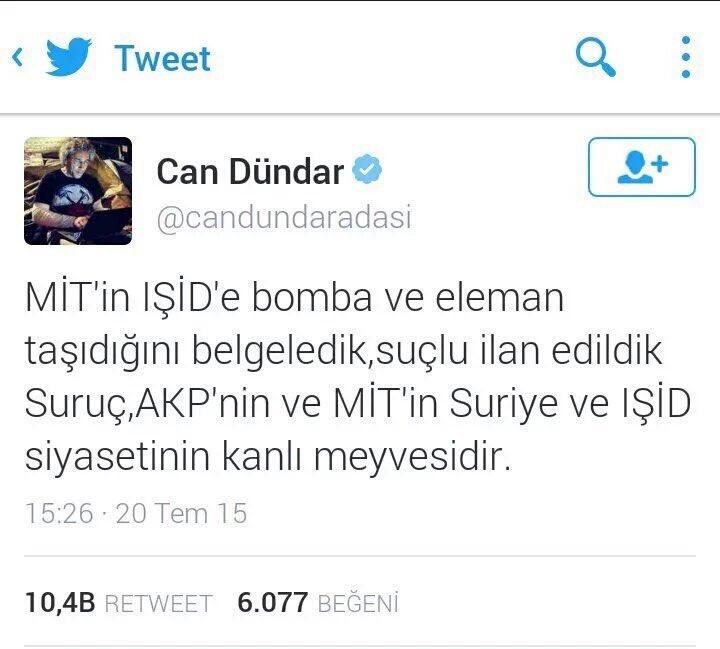 Can Dündar'ın bu 2 farklı ifadesini canlı yayında okudu @fadimeozkan ve Habertürk moderatörü konuyu değiştirdi. https://t.co/t40XLE2NSE